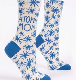 """Blue Q - """"Atomic Mom"""" Women's Socks"""
