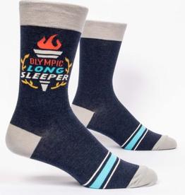 """Blue Q - """"Olympic Long Sleeper"""" Men's Socks"""