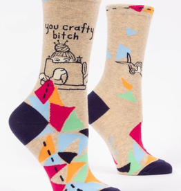 "Blue Q - ""You Crafty Bitch"" Women's Socks"
