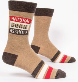 "Blue Q - ""Natural Born Asshole"" Men's Socks"