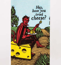 "Blue Q - ""Hey, Have You Tried Cheese?"" Dish Towel"