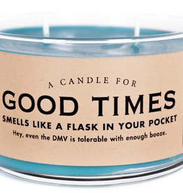 Whiskey River Soap Co. - Good Times Candle