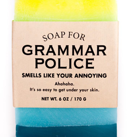 Whiskey River Soap Co. - Grammar Police Soap