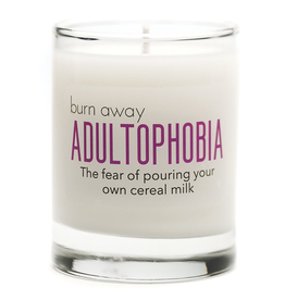 Whiskey River Soap Co. - Adultophobia Candle
