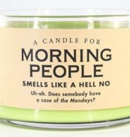 Whiskey River Soap Co. - Morning People Candle