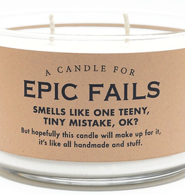 Whiskey River Soap Co. - Epic Fails Candle