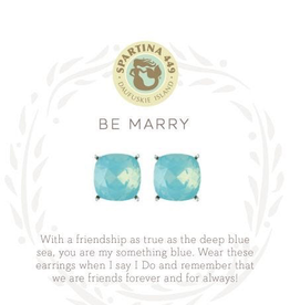 Spartina 449 - Sea La Vie Be Marry Stud Earrings