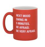 About Face Designs: Be Afraid Mug