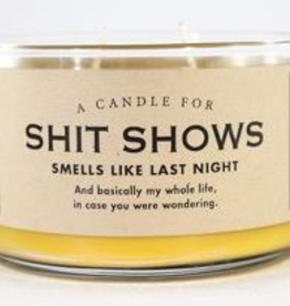Whiskey River Soap Company - Shit Shows-Candle