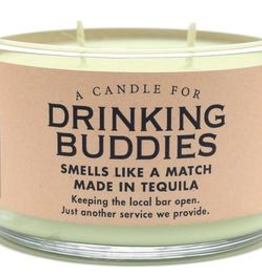 Whiskey River Soap Company - Drinking Buddies Candle