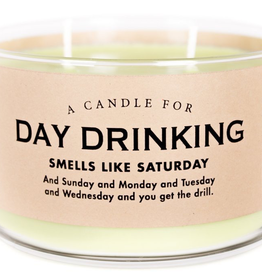 Whiskey River Soap Company- Day Drinking - Candle