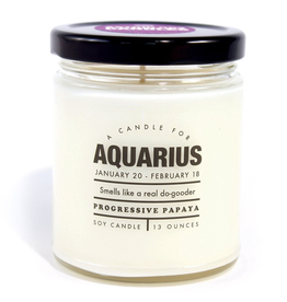 Whiskey River Soap Company - Aquarius Candle