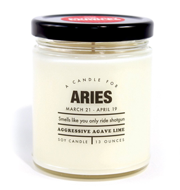 Whiskey River Soap Company - Aries Candle
