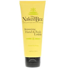 The Naked Bee - Citron & Honey Hand & Body Lotion  2.25 oz