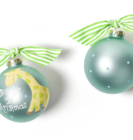 Coton Colors: Giraffe Glass Ornament