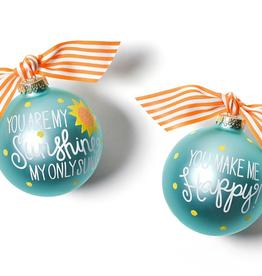 Coton Colors: You Are My Sunshine Glass Ornament