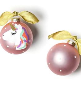 Coton Colors:Unicorn Glass Ornament