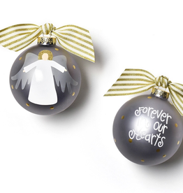 Coton Colors: Forever in Our Hearts Angel Glass Ornament