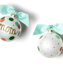 Coton Colors: Best Mom Ever Glass Ornament