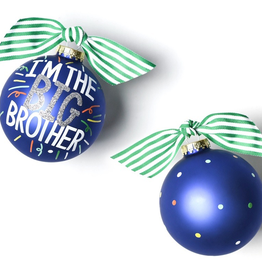 Coton Colors: Big Brother Popper Glass Ornament