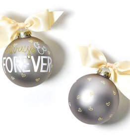 Coton Colors:Always and Forever Glass Ornament