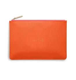 Katie Loxton Colour Pop Perfect Pouch - Bag of Tricks - Orange