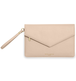 Katie Loxton ESME Envelope Clutch: Be Your Own Kind - Nude Pink