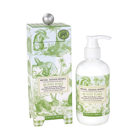 Michel Design Works - Bunny Toile Hand and Body Lotion