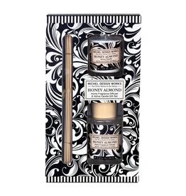 Michel Design Works - Home Fragrance Diffuser & Candle Gift Set/Honey Almond