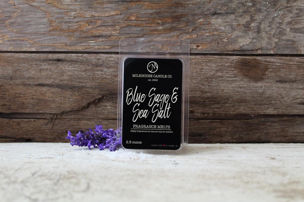 5.5 oz Fragrance Melt:  Blue Sage & Sea Salt