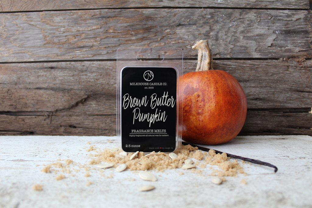 5.5 oz Fragrance Melt:  Brown Butter Pumpkin