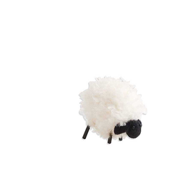 """4"""" Wooly Black Faced Sheep"""