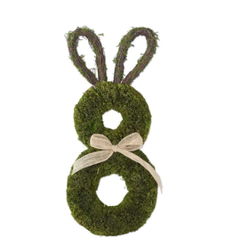 Dried Grass Rabbit Wreath