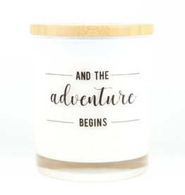 Smitten Collection - Adventure Begins Candle