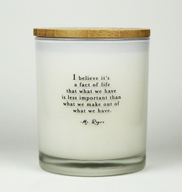 Inspire Collection - Fact of Life Candle