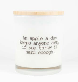 Saucy Collection - Apple A Day Candle