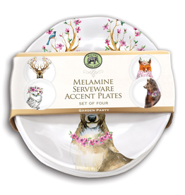 Michel Design Works - Garden Party Melamine Accent Plate Set