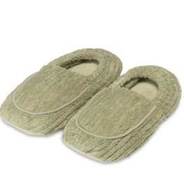 Warmies® Spa Therapy Slippers Green