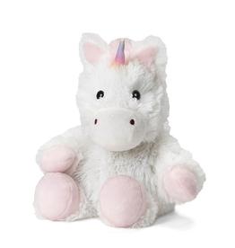 "Warmies® 9"" Junior White Unicorn"
