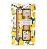 Michel Design Works - Home Fragrance Diffuser & Candle Gift Set/Lemon Basil