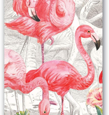 Michel Design Works - Flamingo Paper Hostess Napkins