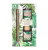Michel Design Works - Home Fragrance Diffuser & Candle Gift Set/Palm Breeze