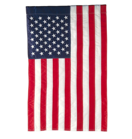 Garden American Regular Size Applique Flag