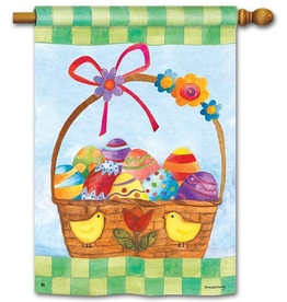 Garden Baskets for the Bunny Standard Flag