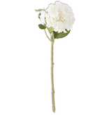 20 inch White Real Touch Hydrangea Spray