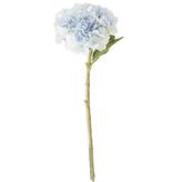 20 inch Blue Real Touch Hydrangea Spray