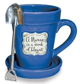 Flower Pot Mug/Nurse