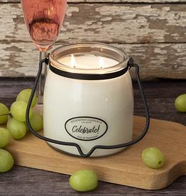Butter Jar 16 oz:  Celebrate!