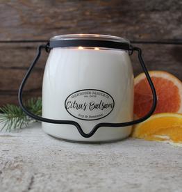 Butter Jar 16 oz:  Citrus Balsam