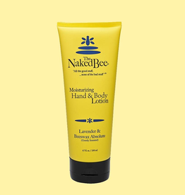 The Naked Bee - Lavender & Beeswax Hand & Body Lotion 6.7 oz.